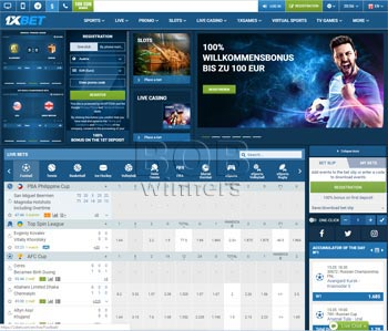 Online Bookmaker 1xBet Review